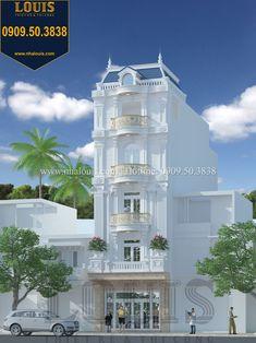 Classic House Exterior, Architecture Building Design, Modern House Facades, House Front Design, Facade House, House Plans, Mansions, House Styles, Villas