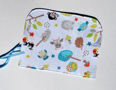 Crochet Hook Organizer  DPN Storage Case Owls by MonkeyMuffin