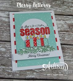 Hello and welcome to this weeks Artisan design team hop. Today we are sharing with you a brand new and exclusive christmas stamp set that...