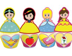 Planning a birthday party for a special princess ? Our Disney inspired cupcake toppers  wrappers set will impress all your little guests! WHAT YOU GET This listing is for 4 PDF files with: * 4 Wrapper Designs. * 4 Topper Designs. INSTANT DOWNLOAD Immediately after purchase an email will be sent by Cupcake Makeover that lets [...]