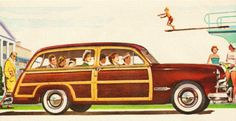 Roger Wilkerson, The Suburban Legend. Ford Station Wagon