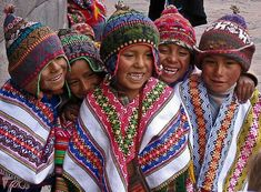 Inca Children in the Andies::