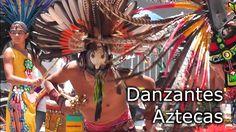 DANZANTES AZTECAS - EXPLANADA DEL MUSEO NACIONAL DE ARTE MUNAL