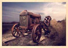 Fordson F Tractor by Yo Pedro on Fine Art America.