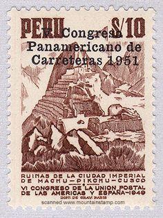 Peru Stamp 1951