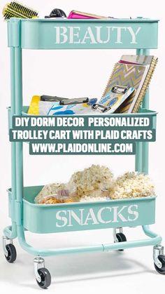 Dorm Room Crafts, Diy Dorm Decor, Craft Rooms, Dorm Decorations, Dorm Room Storage, Diy Storage, Craft Projects, Craft Ideas, Comfy Clothes