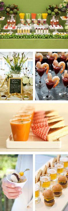 Banquet Food Stations | Creative Food Stations - My Wedding Reception Ideas | Blog