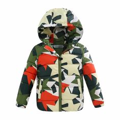 e5c8bba1f3f9 New fashion winter Korean style children child down jacket light hooded  coats for baby boys and girls warm clothing clothes-in Down   Parkas from  Mother ...