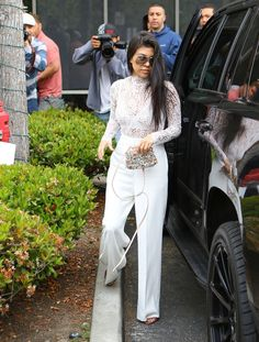 Kardashian Family Easter Outfits 2016 | POPSUGAR Fashion