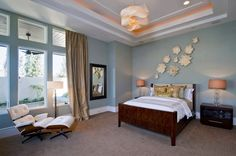 Calm Bedroom Colors | Contemporary Bedroom Ideas with Blue Color Scheme The Bedroom Colors ...