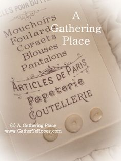 French Graphic Clouterie Pillow - Pillows - A Gathering Place
