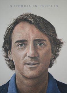 Roberto Mancini painting by John McCarthy http://www.albemarlegallery.com/