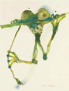 Australian artist Jon Olsen delights in quirky drawings of frogs . Blue Horse, Insect Art, Paintings I Love, Australian Artists, Teaching Art, Fractal Art, Beautiful Artwork, Wildlife Photography, Pet Birds