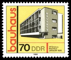 Walter Gropius 1980 commemorative stamp (likely NOT public domain - but awesome) http://commons.wikimedia.org/wiki/File:Stamps_of_Germany_%28DDR%29_1980,_MiNr_2513.jpg