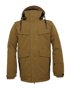 686 PARKLAN FIELD INSULATED JACKETThe field jacket replaces the very popular m-65 jacket with great 15k 10k rated fabrics and 60g polyfil insulation. With a classic military cut and looks, mid insulation and excellent 10k rating you cant go wrong with the field jacket #snowboards #mensnowboardjacket #686parklanfieldinsulatedjacket #colourarmyripstop
