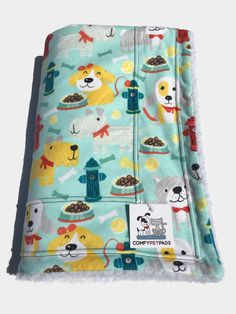 Dog Blanket, Crate Liner, Puppy Bedding, Crate Mat, Blanket for Baby, Fire Hydrant Blanket, Dog Party, Made in Colorado, Gifts under 30 #CrateMat #WheelchairBlanket #BlanketForBaby #DogBlanket #CrateLiner #FireHydrantBlanket #PetBlanket #KennelPad #MadeInColorado #LittleGirlGift