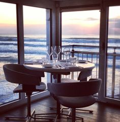 Best table in Britain? Jamie Oliver's 'Fifteen' Cornwall at Watergate Bay, Newquay Cornwall