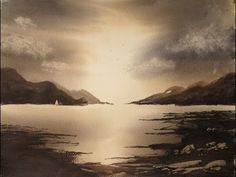 Watercolour Landscape Painting Demonstration featuring Tay Forest Park in Scotland - YouTube