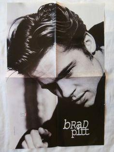 Brad Pitt Big Poster from Greek Magazines clippings 1970s 1990s | eBay