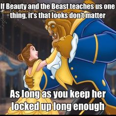 Beauty and The Beast. Funny