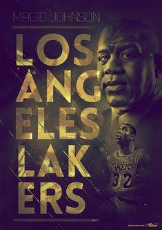 Vintage NBA Posters by Caroline Blanchet