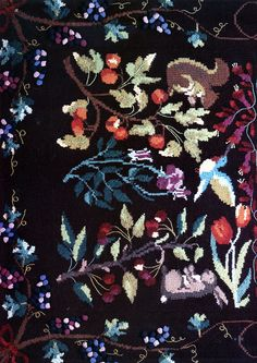 Ravelry: #08 Tapestry Afghan by Nicky Epstein