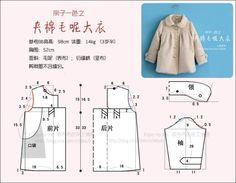 Выкройки пальто для девочки
