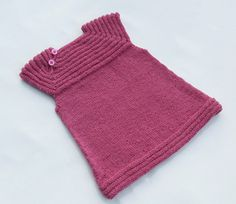 Little Sister's Dress by Tora Frøseth Design  Sweet little dress or pullover, knitted from the top down, seamless, raglan, great for beginners. - FREE knitting pattern