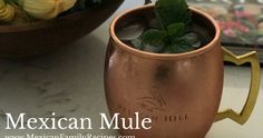 Mexican Mule with #tequila, #gingerbeer and #jalapenos. So cool and refreshing for these hot and humid days #mexicanfood #mexicandrinks #mexicanmule