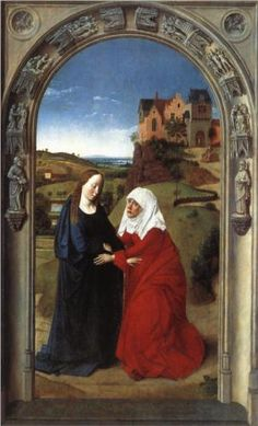 The Visitation - Dirk Bouts