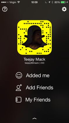 Snap chatters this is TeeJay Mack
