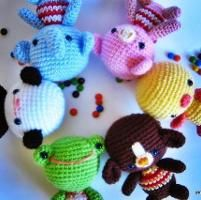 little friends amigurumi crochet - via @Craftsy
