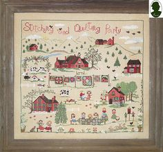 Stitching and Quilting Party di SaraGuermani su Etsy