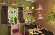 designer interior of a playhouse