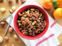 Maple Spiced Nuts