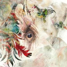 "アリス九號 - 華 Alice Nine - hæ・ne ""Hana"" (single) [King artwork by Aya Sacuraco (彩櫻恋 aka 吉本彩子 Ayako Yoshimoto) Hana, Album Covers, Moose Art, Alice, Museum, Gallery, Artwork, Painting, Animals"