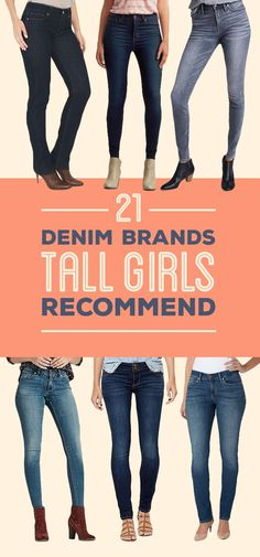 21fd679fa5ea8 22 Best Jeans/Pants for Tall Girls images | Outfits, Tall clothing ...