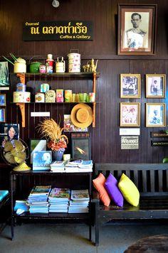 Thai Coffee Shop in Nong Khai