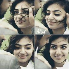 Indian Film Actress, Beautiful Indian Actress, Beautiful Actresses, Indian Actresses, Simple Frock Design, Movie Love Quotes, Real Quotes, Nazriya Nazim, Cute Celebrities