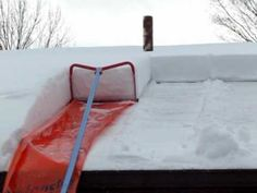 Roof Snow Removal The Avalanche