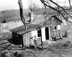 Aldo Leopold's Chicken Coop. The only chicken coop on the National Register of Historic Places.