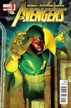 Avengers Vol. 4 One of the greatest Avengers of all time, Vision, has been out of commission for years. Now that he's returned, he has to make good on promises he made. The exciting prelude to the Avengers event of the summer! Avengers Characters, The Avengers, Avengers Comics, Marvel Comic Character, Marvel Movies, Vision Avengers, Character Art, Vision Marvel Comics, Marvel Art