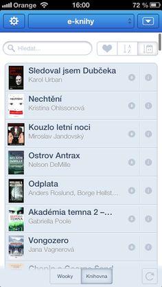 Čtečka Wooky / eBUX.cz - obchod s elektronickými knihami Nelson Demille, Urban