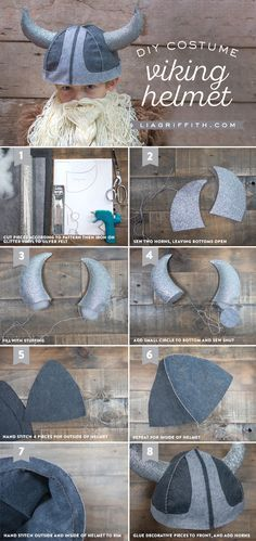 Make the best kids Viking costume EVER for the little barbarian in your life. Patterns and tutorials by handcrafted lifestyle expert Lia Griffith.