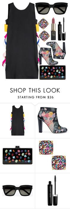 """Christmas Party"" by egordon2 ❤ liked on Polyvore featuring MSGM, Camilla Elphick, Edie Parker, Kate Spade, Yves Saint Laurent, Marc Jacobs and L'Oréal Paris"