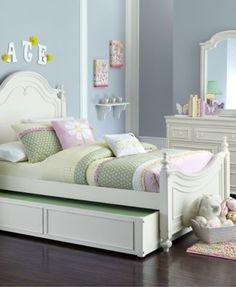 Adley Kids Bed, Twin Poster Bed | macys.com