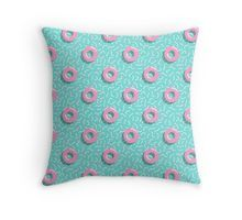 #memphis #style #retro #eighties #80s #mia #miavaldez #redbubble #pillow #throwpillow