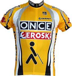 Once Eroski #retro #wielershirt #fietskleding