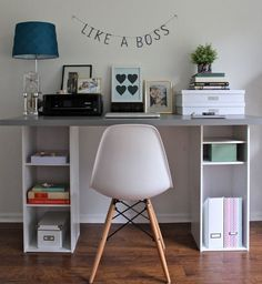 14 Organization Tips to Create the Chicest Desk Ever via Brit   Co