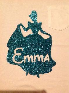Personalized Princess Shirt for Disney Trip